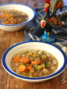 Asian-Style Beef Barley Soup