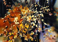 silk painting_ artwork autumn | Flickr - Photo Sharing!