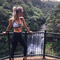 When you take a step back and appreciate the view, you realise you already live in paradise  @chelskawana finds her paradise in the Nicila Sports Bra #thisisactiveliving #lornajane #movenourishbelieve #activeliving