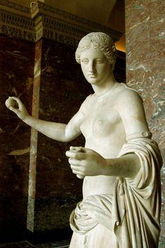 Aphrodite, the Venus of Arles, 1st century BC ~ Musée du Louvre ~ Paris