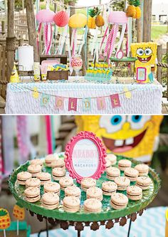 bikini bottom spongebob squarepants birthday party