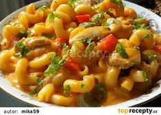 Pasta Recipes, Chicken Recipes, Dinner Recipes, Cooking Recipes, Czech Recipes, Ethnic Recipes, Special Recipes, What To Cook, Food 52