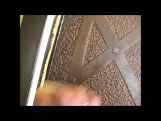 делаем ковку или кованная дверь без металла :) - YouTube