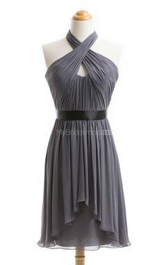 Vogue Sliver Short Bridesmaid Dress,Short Bridesmaid Dresses