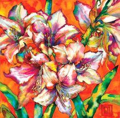 Amaryllis. Art by Sofía Perina Miller