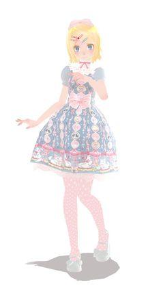 Sweet Lolita Rin download by pompom-s.deviantart.com on @DeviantArt