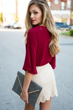 #swoonboutique Swoon Boutique, Bell Sleeves, Bell Sleeve Top, Work Wear, Swag, My Style, How To Wear, Clothes, Outfits