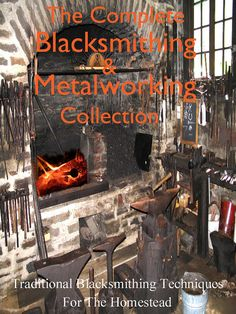 32 Rare Old Books On Farm BLACKSMITHING METALWORKING by HowToBooks