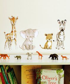 Love this Safari Friends Decal on #zulily! #zulilyfinds