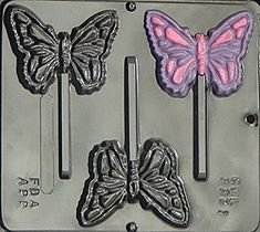 Butterfly Lollipop Chocolate Candy Mold 3371 ** More info could be found at the affiliate link Amazon.com on image.