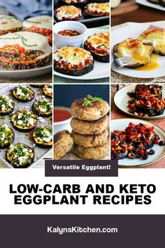 Best Gluten Free Recipes, Fall Recipes, Low Carb Recipes, Cooking Recipes, Keto Eggplant Recipe, Eggplant Recipes, Vegetable Recipes, Vegetarian Recipes, How To Cook Greens