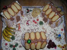 Mon gâteau village de Noël