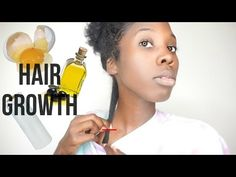 This mixture may take you from bald to thick hair/no edges to edges/bald spots to having hair! - YouTube