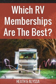 Which RV Memberships are Best? - Which RV Memberships are Best? Good Sam, Passport America, Escapees, Thousand Trails, and more! Which RV memberships do you really need? Rv Camping Checklist, Rv Camping Tips, Camping Supplies, Camping Essentials, Tent Camping, Camping Ideas, Camping Products, Camping Stuff, Camping Jokes