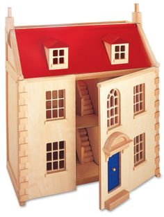 dolls house with red roof - Google Search