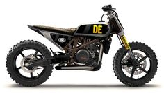 KTM 690 scrambler by Derestricted