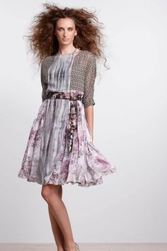 Sculptural Pinafore Dress - Anthropologie.com  So feminine and quirky