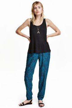 Spodnie Loose fit | H&M