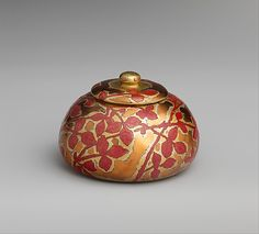 Covered Box designed by Louis Comfort Tiffany, Tiffany Glass and Decorating Company, New York City, New York, American, enamel on copper