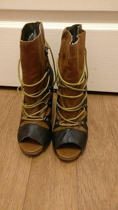 Bottes marrons fashion - taille 38