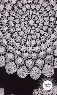 """Szydełkowy zakątek: """"Wspomnienie najstarszych serwet i wzorów koniakowskich"""" Spiral Crochet Pattern, Crochet Patterns, Crochet Doilies, Crochet Lace, Irish Crochet, Counseling, Poland, Blog, Decor"""