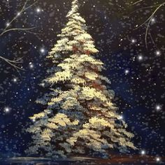 Join us at Pinot's Palette - Des Moines on Thu Dec 2019 for All is Calm. Merry Christmas Gif, Christmas Deco, Winter Painting, Painting Trees, Native American Drawing, Gif Animé, Handmade Greetings, Pencil Art Drawings, Christmas Paintings