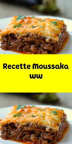 Recette Moussaka ww – Food for Healty Crockpot Recipes For Two, Ww Recipes, Chicken Recipes, Italian Soup Recipes, Mexican Soup Recipes, Plats Weight Watchers, Weight Watchers Meals, Cold Lunch Recipes, Dinner Recipes