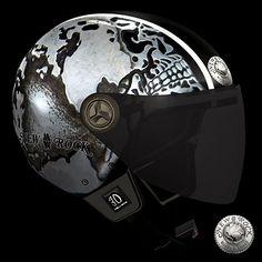 Casque de Moto New Rock (HELMET3D-S21)