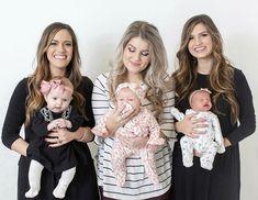 Carlin Bates, Erin Holland, Katie Jackson, Bates Family Blog, Dugger Family, 19 Kids And Counting, Future Mom, Sylvanian Families, Beautiful Family