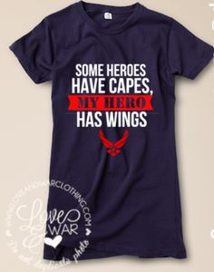 Some Heroes have capes, my HERO has wings :)