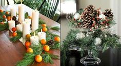 (via Get Decor Creative Eco-Friendly Christmas Tree Design Ideas Creative Eco-Friendly Christmas Decorating Ideas Green Orange – DecoratingDesignInterior.com)