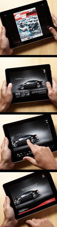 Fake Ad - iPad ad for Bradesco Seguros by the goodfellas, via Behance