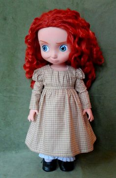 """Merida's regency dress. I bought the fabric many years ago for this purpose, and the fabric was as perfect as I wished: soft and easy to handle and quite """"Sense and Sensibility"""" -like."""
