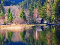 #Erlaufsee im Herbst