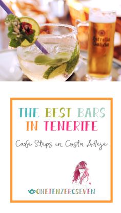 The best bars in Tenerife. Cafe Steps, an adorable Belgian bar in Costa Adeje Tenerife. Great atmosphere, cool decor, good selection of reasonably priced drinks and a sense of the local culture.