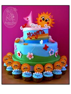 Sunshine Cake.
