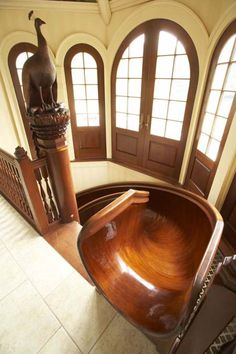 1000 images about dream house on pinterest indoor slides spiral staircases and staircases. Black Bedroom Furniture Sets. Home Design Ideas