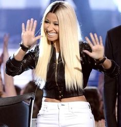 Nicki Minaj zwart poesje