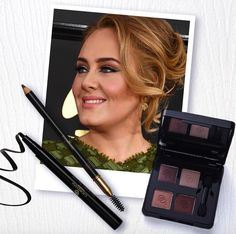 Today we're inspired by the oh-so talented, multiple Grammy Award winner, Adele's red carpet look. Re-create it by pairing strong eyes with a nude lip! #Oriflame  #makeup