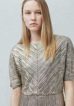 Mango LAME - Cocktailkleid / festliches Kleid - silver für 49,99 € (25.03.16) versandkostenfrei bei Zalando bestellen.