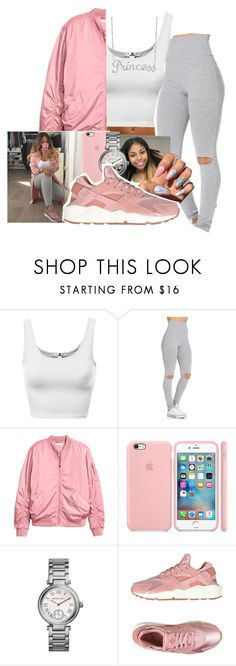 """""""Princess 😜💕"""" by littydee ❤ liked on Polyvore featuring H&M, ETUÍ, Michael Kors, NIKE and Belk & Co."""