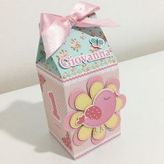 Milk Box, Bird Party, Birthday Bag, Kid Party Favors, Favor Boxes, Decorative Boxes, Birthdays, Baby Shower, Birds