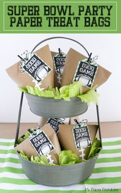Paper Treat Bags Per