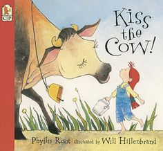When a very curious little girl meets a cow named Luella who is even more stubborn than she is, who will be the first to back down? Phyllis Root's spirited tall tale finds a family of countless hungry children - and a magic cow who demands a kiss on the nose to keep the sweet milk flowing. 9780763620035 / 4-8 yrs
