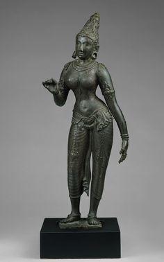 Standing Parvati [Tamil Nadu, India] (57.51.3) | Heilbrunn Timeline of Art History | The Metropolitan Museum of Art