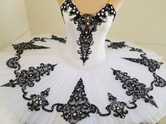 White and black Tutu by JeTutus www.jetutus.com.au