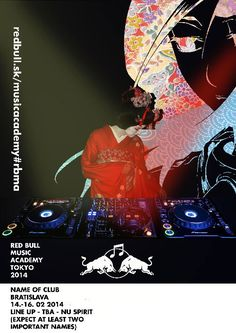 RED BULL MUSIC ACADEMY POSTERS on Behance