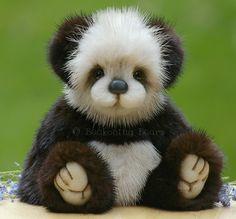 mink teddy bears | Carney -a mink bear / Teddy Bears & Pals / Teddy Talk: Creating ...