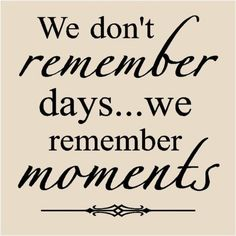 ...and the emotions that go along with those moments!