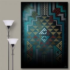Ta Moko / Maori Tattoo & Artworks by established Maori artist, Wiremu Barriball. Map Canvas, Blue Canvas, Canvas Art Prints, Maori Designs, Maori Art, Lion Of Judah, Baroque, Wrapped Canvas, Artist